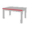 długość stołu